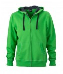 JN595 MEN'S HOODED JACKET