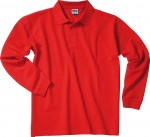JN022 POLO PIQUE HEAVY LONG-SLEEVED