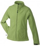 JN1007 LADIES' BONDED FLEECE JACKET