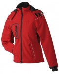 JN1001 LADIES' WINTER SOFTSHELL JACKET