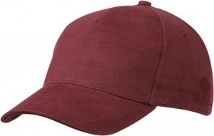 MB092 5 PANEL CAP HEAVY COTTON