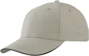 MB6541 LIGHT BRUSHED SANDWICH CAP